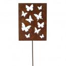 Connecteur du panneau métallique « papillon » H120